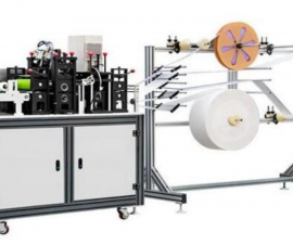 Stroje pro výrobu roušek, respirátorů a rukavic