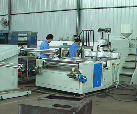 Bubble film making machines, possibility of lamination