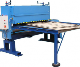 Punching/trimming machine with roll