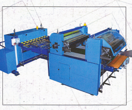 Printing and trimming automatic machine 2R