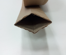 Hose sleeve made of corrugated cardboard