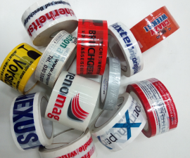 BOPP printed adhesive tapes