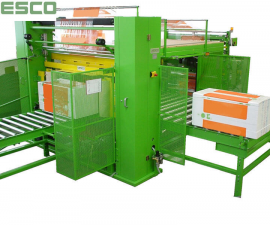 Film wrapping machines - Wrapping machines examples-Machines for thight packing of isolationboards GAS 1600 C