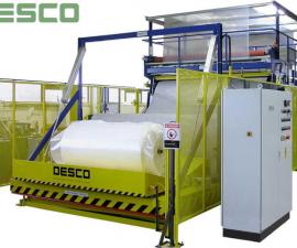 Balící stroje - příklady balících strojů-Stroje pro balení pěnových materiálů RUK 2700